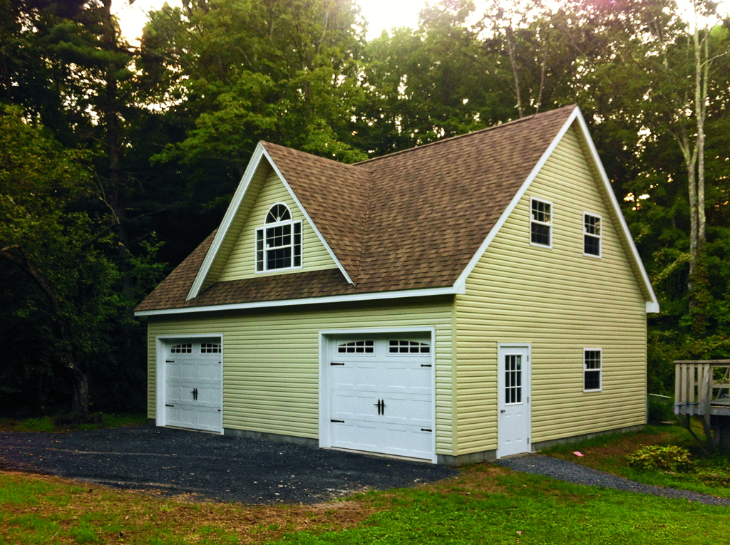 Ref # 1006 24' x 32' Boston Vinyl Garage