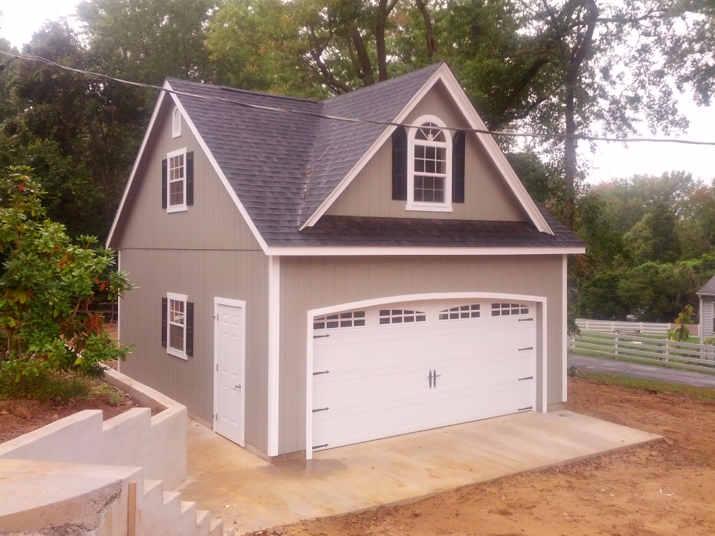 Ref # 1010 24' x 24' Vinyl Jefferson Garage